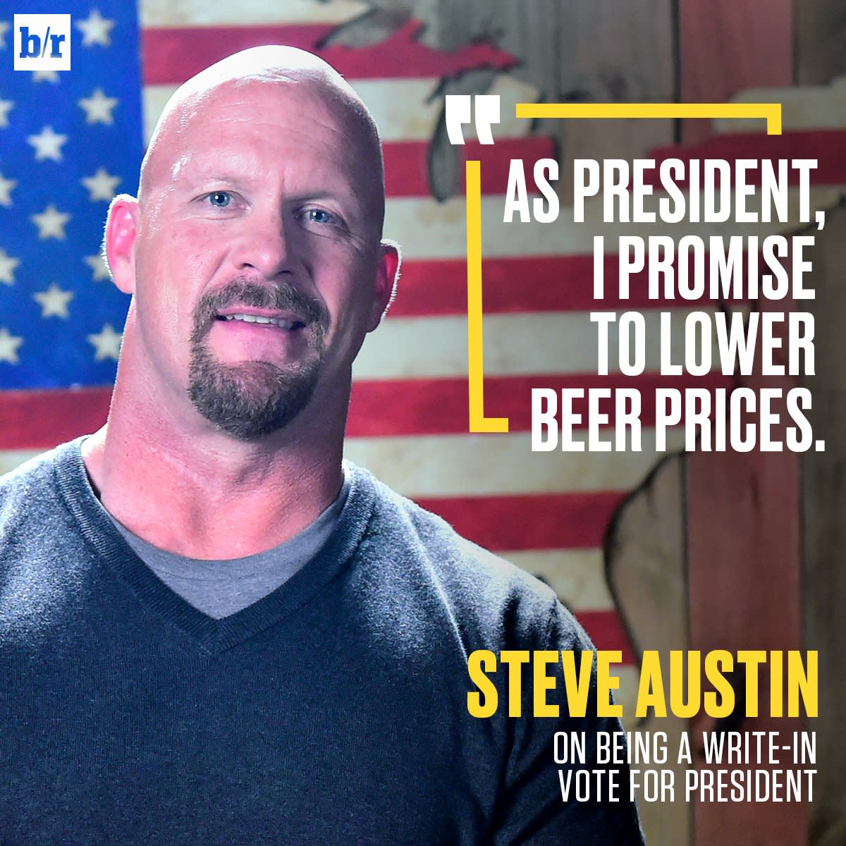 Steve Austin Election Day