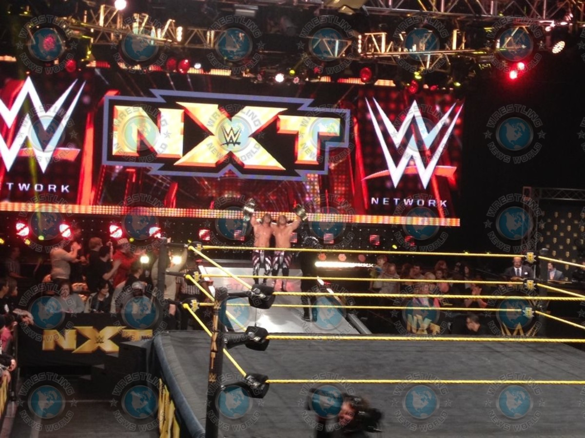 New WWE NXT Tag Team Champions