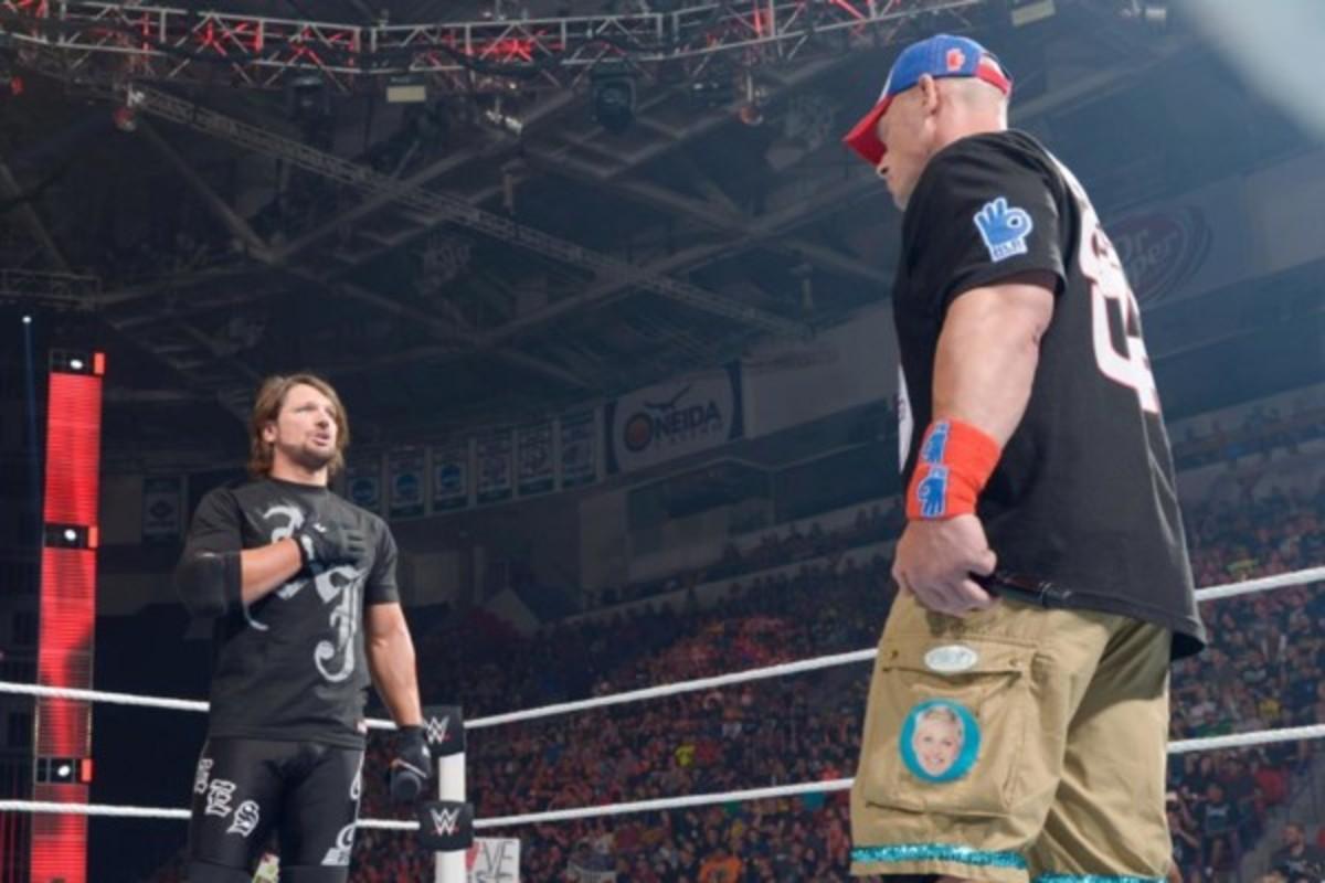AJ Styles vs. John Cena