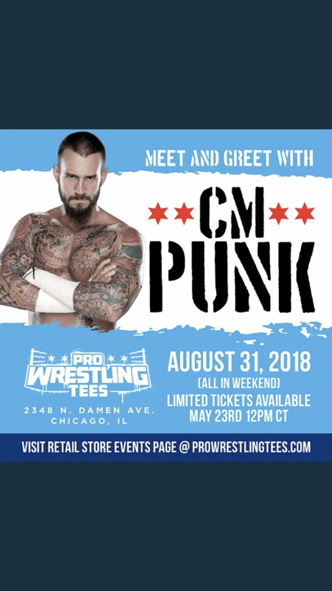 Cm punk to make first wrestling appearance since leaving wwe wwe cm punk to make first wrestling appearance since leaving wwe m4hsunfo