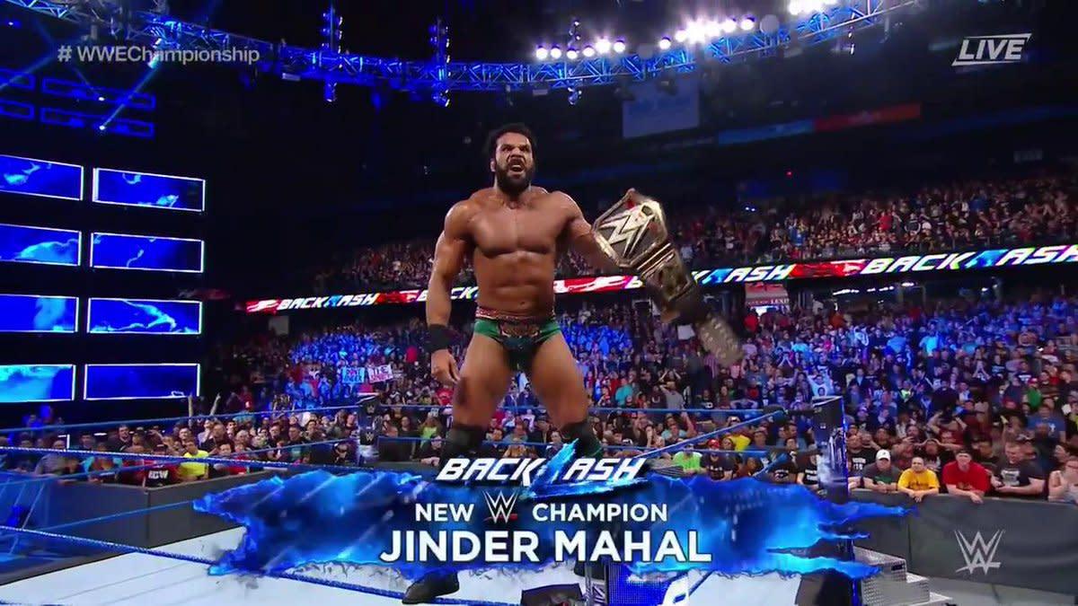 Jinder champion