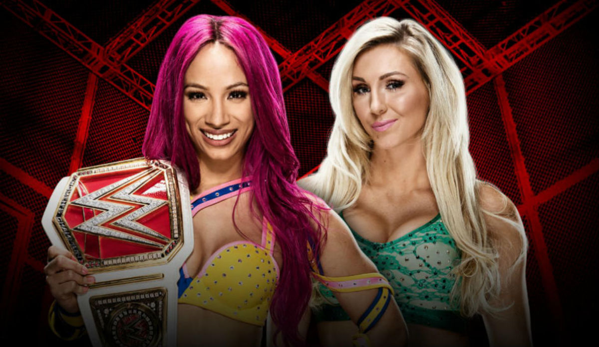 Sasha Banks vs. Charlotte