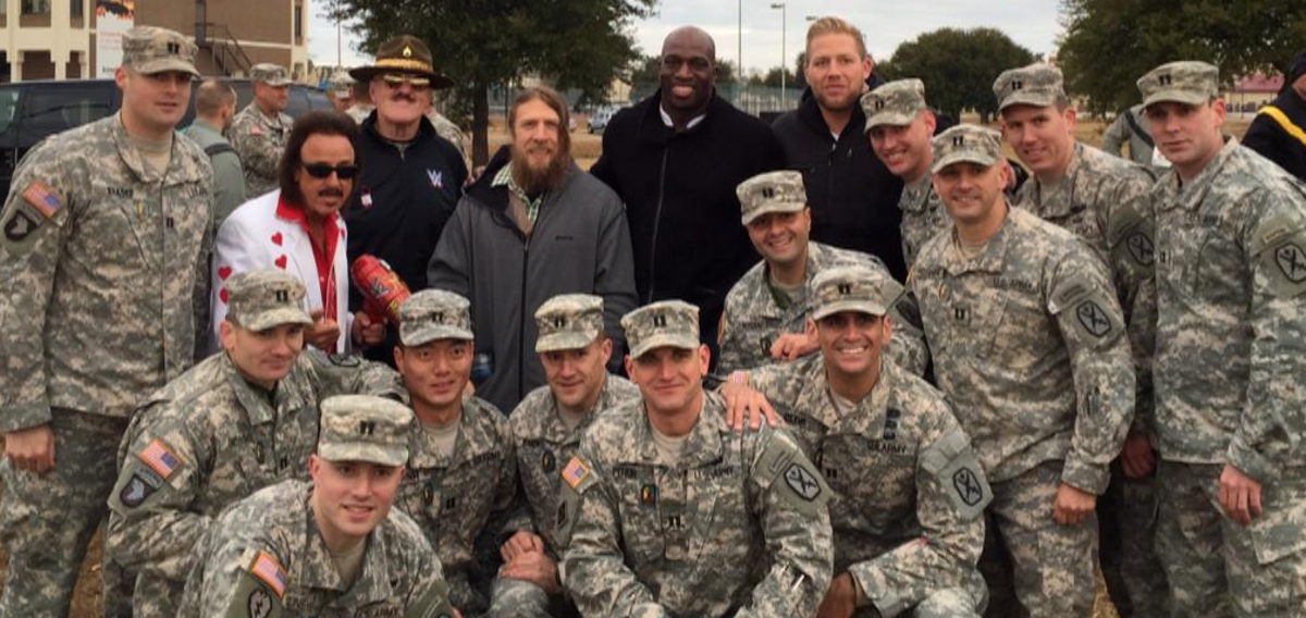 WWE Tribute to the Troops 2014