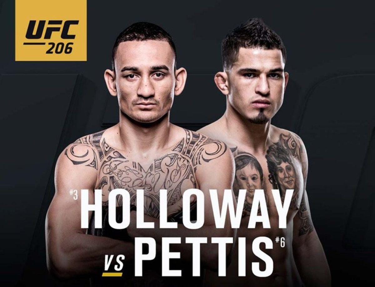 UFC 206 Poster
