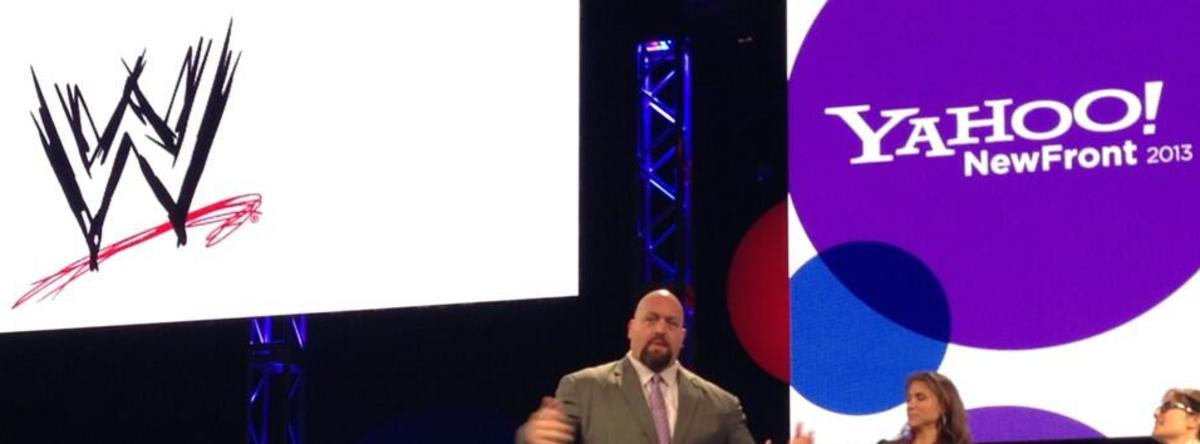 WWE & Yahoo
