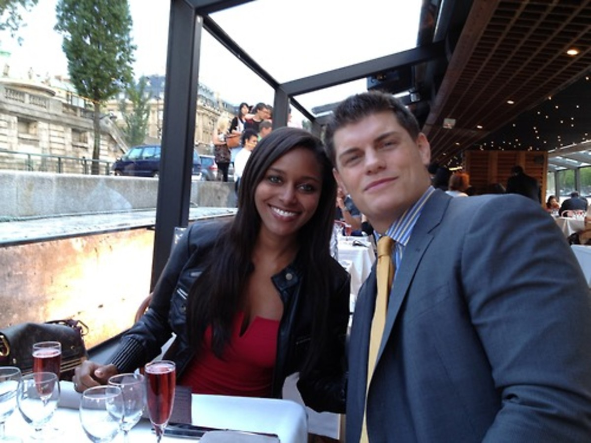 Cody Rhodes & Wife