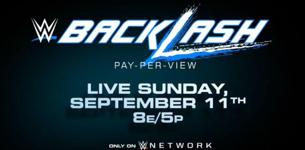 New WWE Backlash Logo
