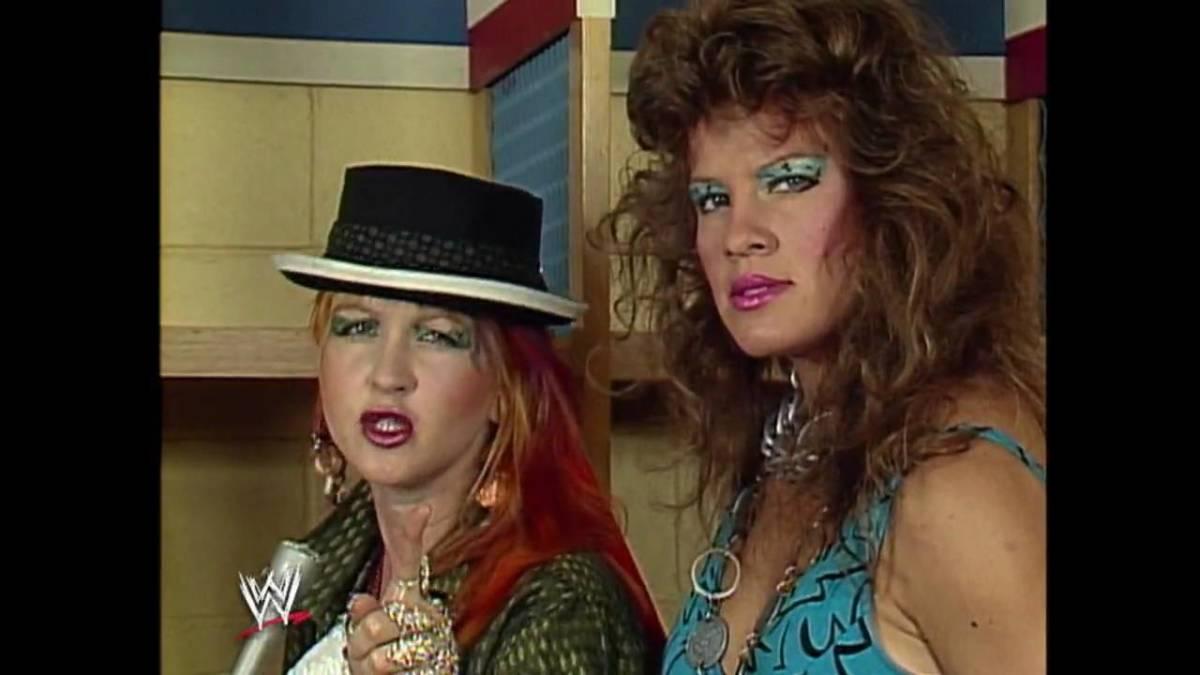 Cyndi and Wendi