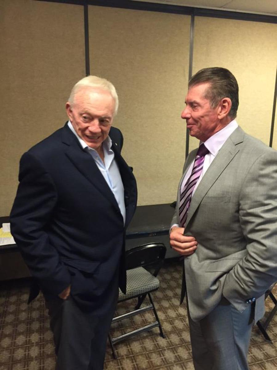 Jerry Jones & Vince McMahon