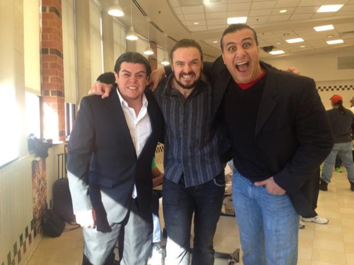 Ricardo Rodriguez, Drew McIntyre, Alberto Del Rio