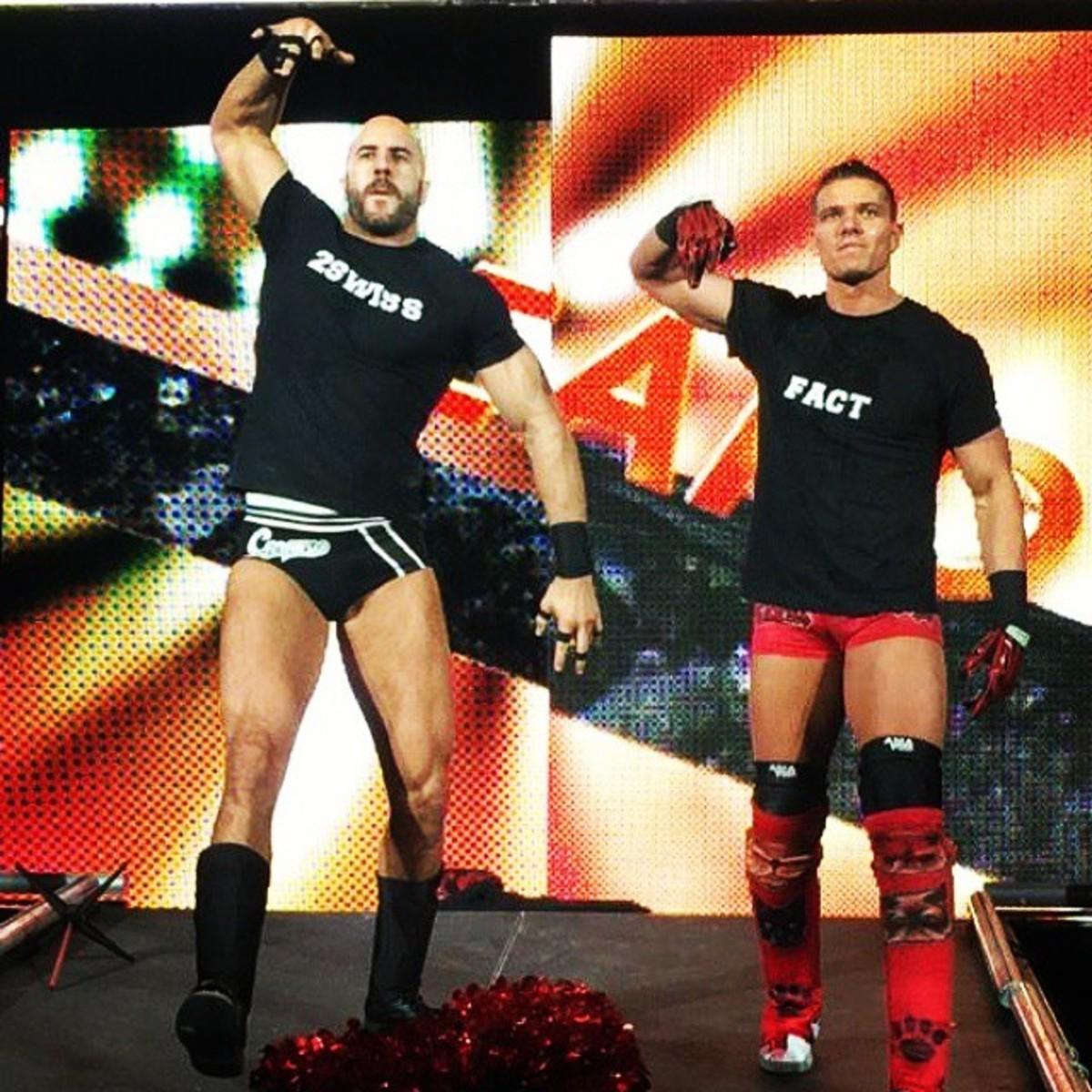 Tyson Kidd and Cesaro