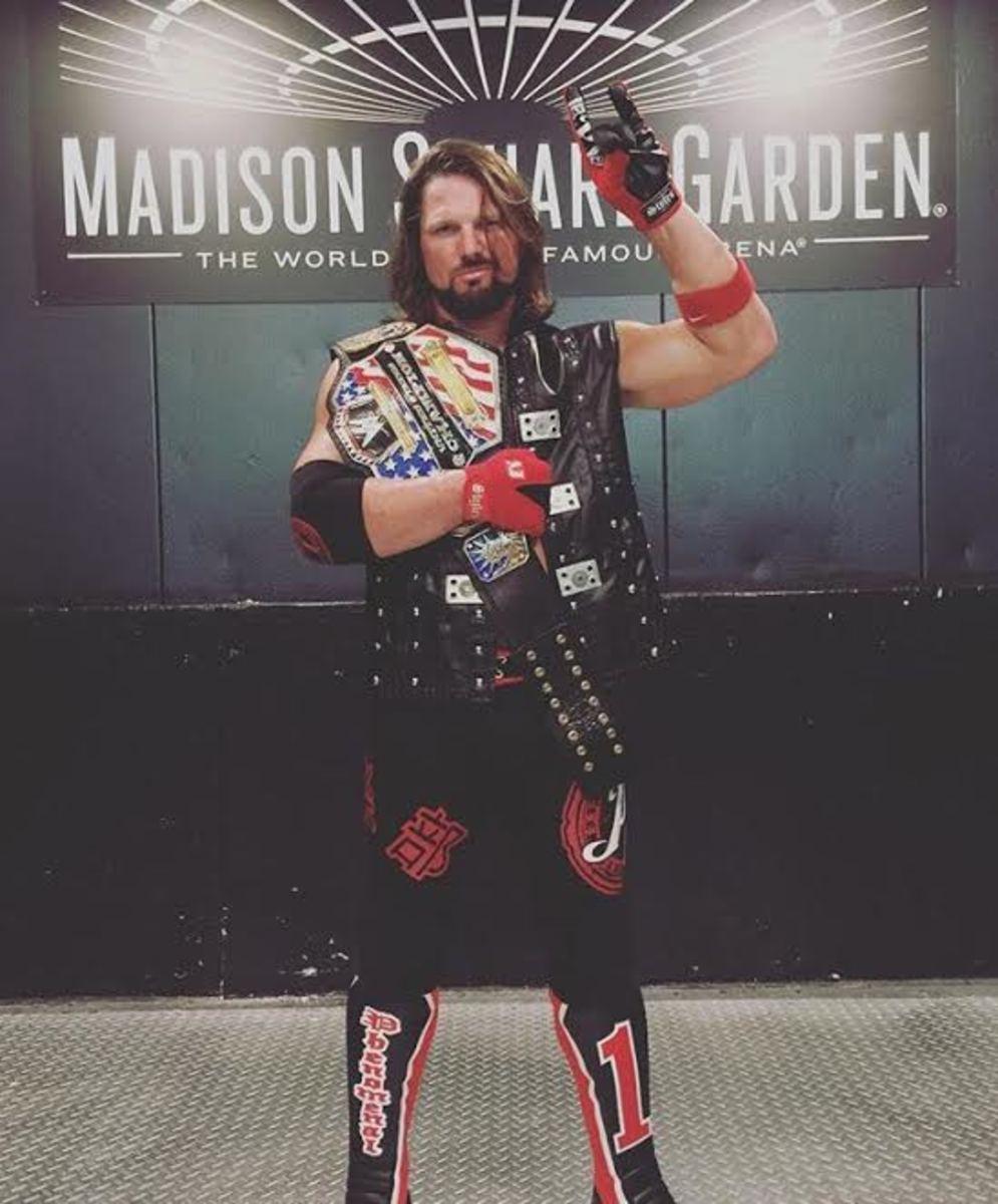 AJ Styles US Champ
