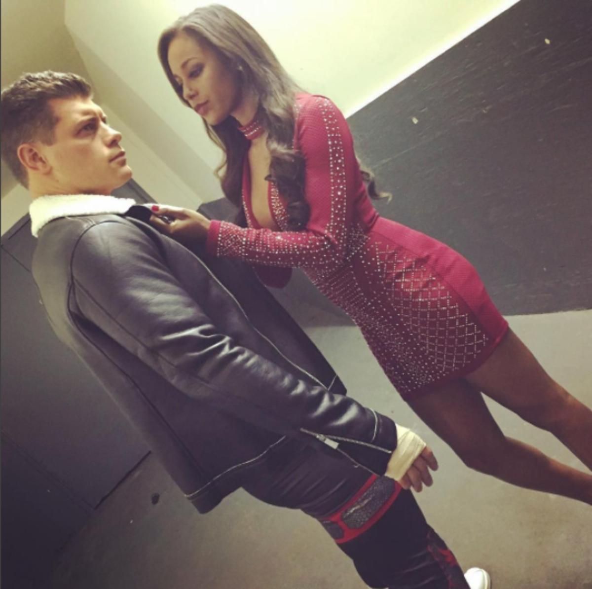 Cody and Brandi Rhodes