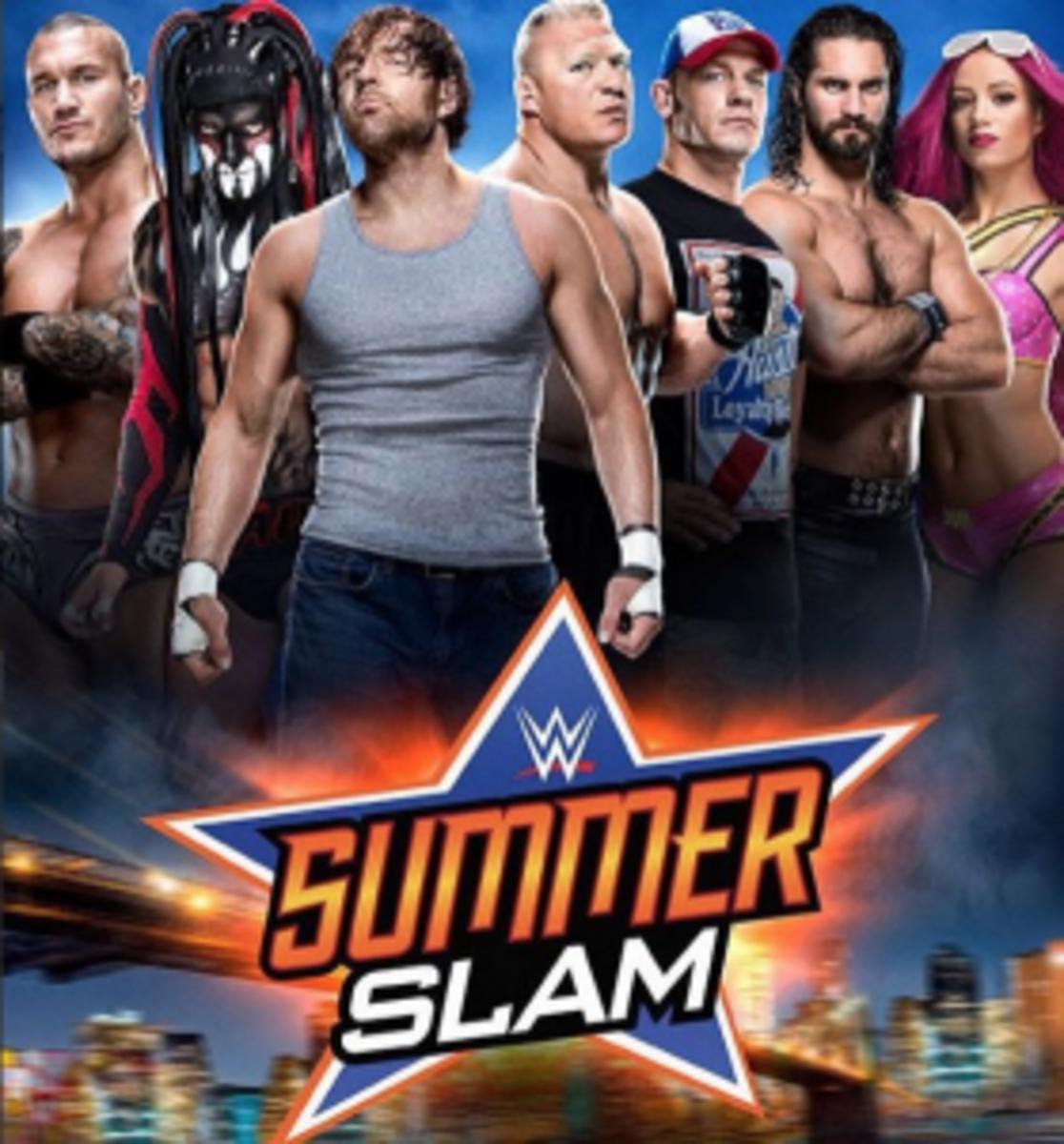 New SummerSlam Promo Poster