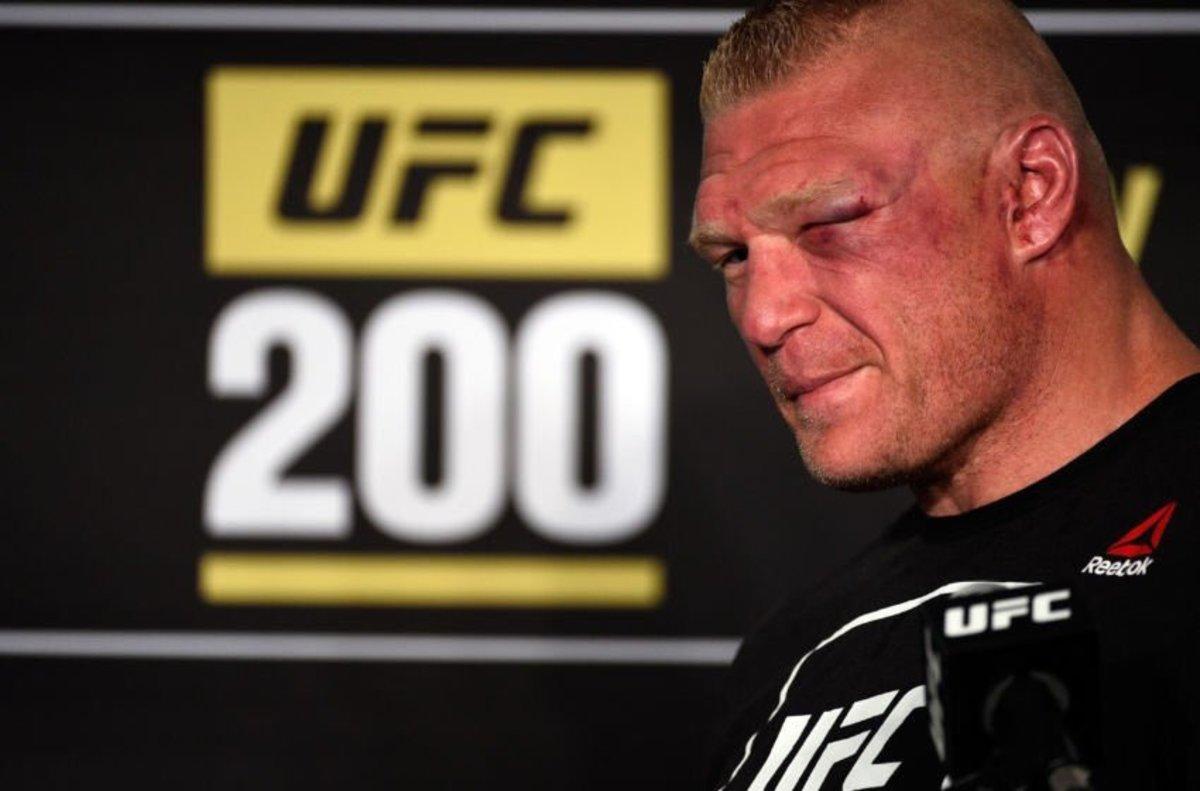 Embattled Brock Lesnar