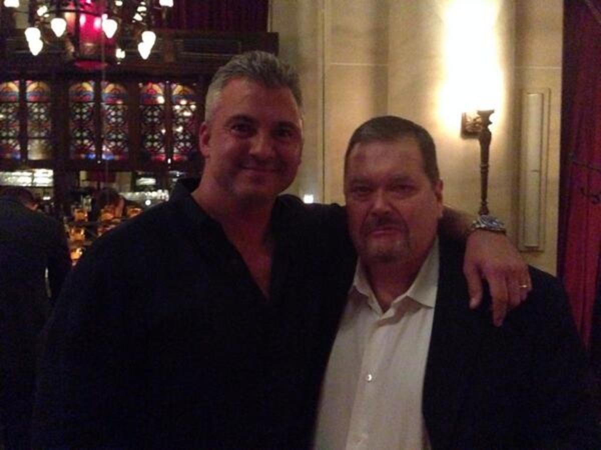 Shane McMahon & Jim Ross