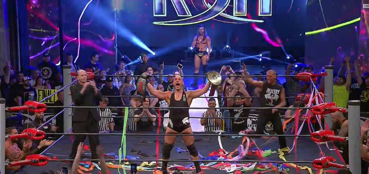 Christopher Daniels ROH Champion