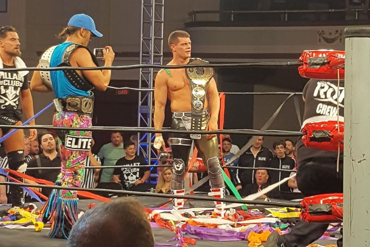Cody Rhodes ROH World Champ