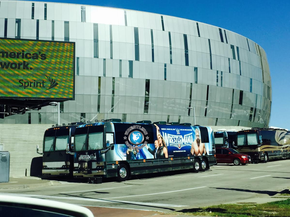 WWE at Sprint Center