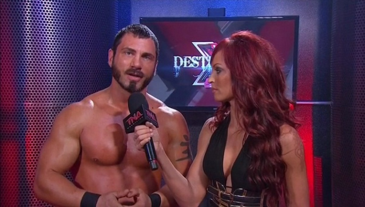 Austin Aries & Christy Hemme