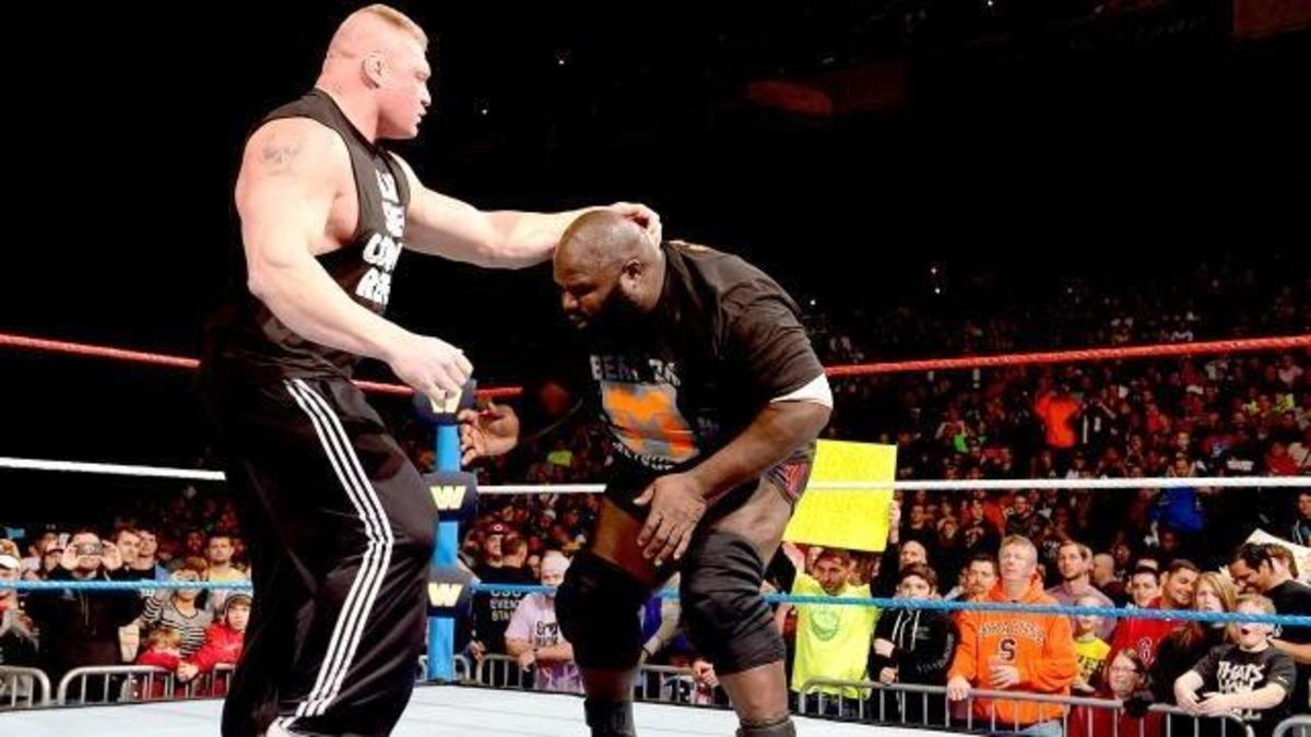 Brock Lesnar vs. Mark Henry