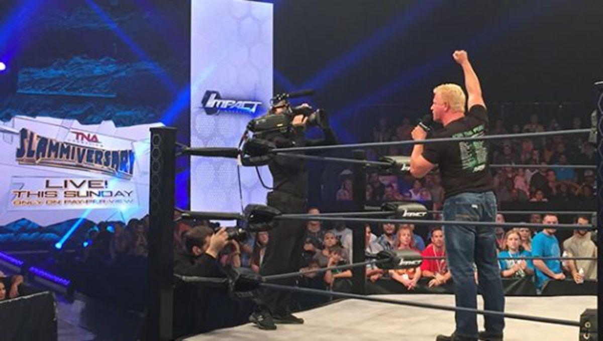 Jeff Jarrett Returns to TNA