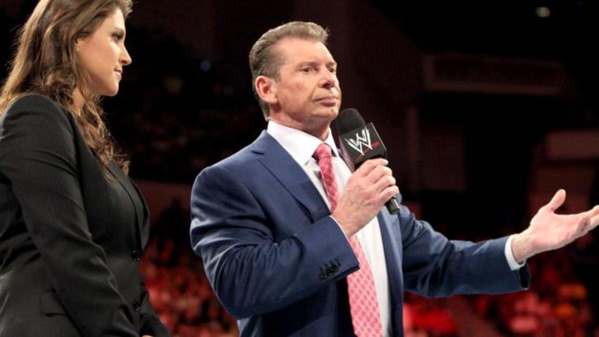 Stephanie & Vince McMahon