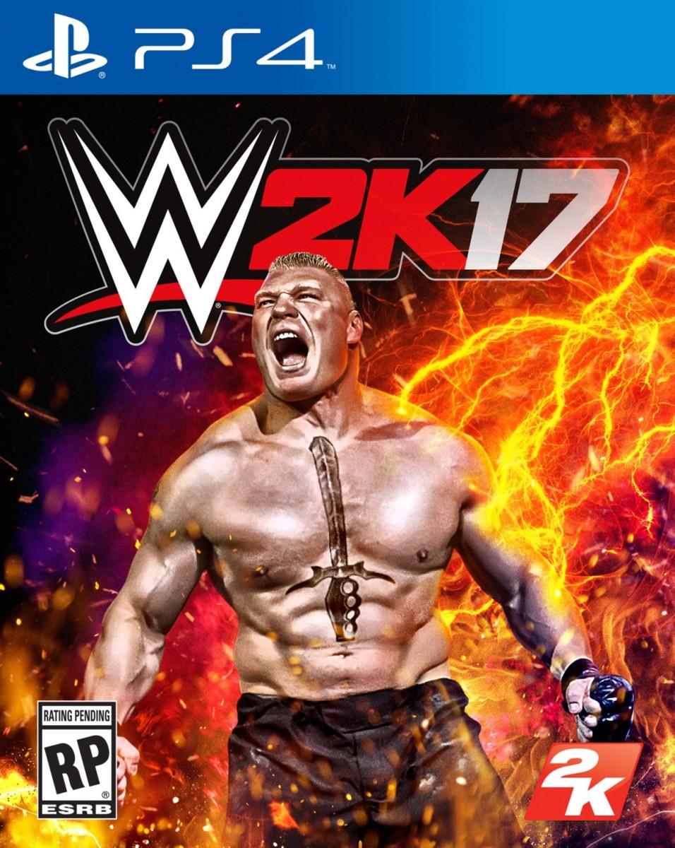 Brock Lesnar WWE 2K17