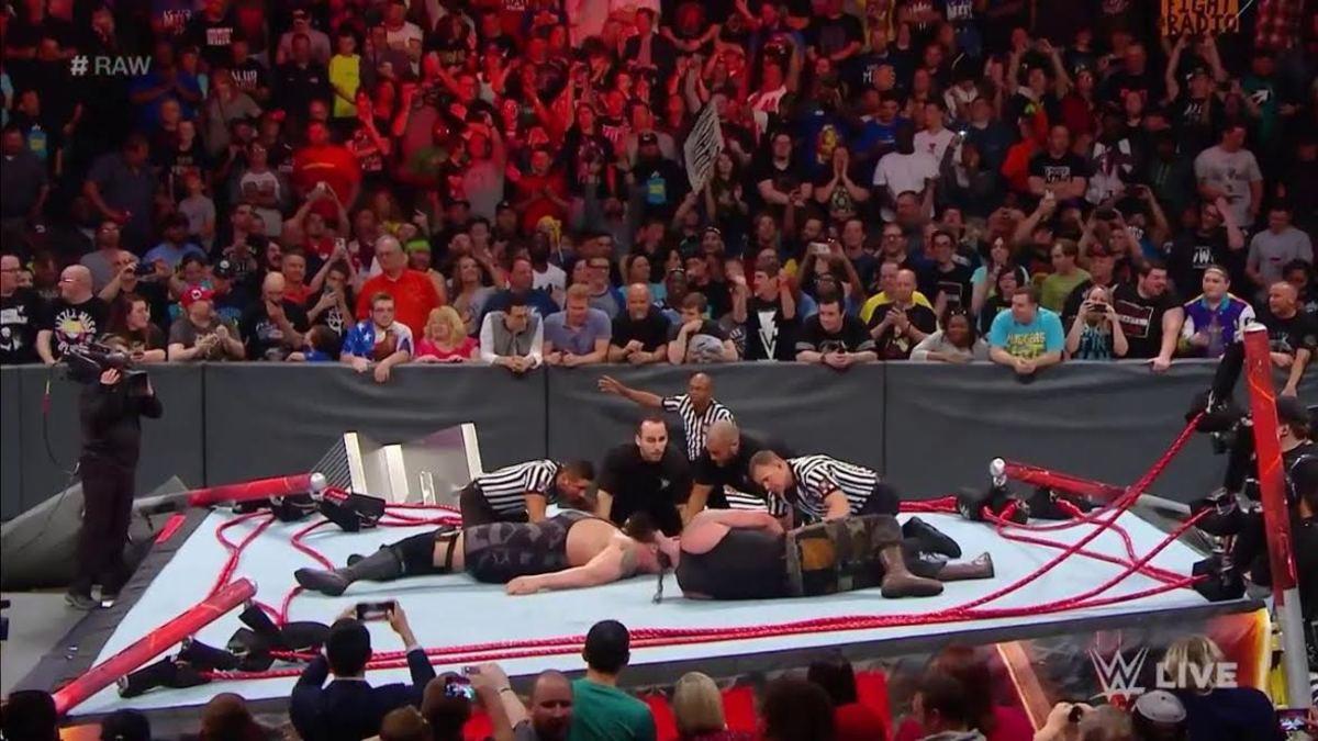 Braun Strowman Big Show Ring Break 2017