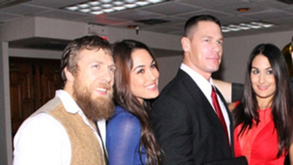 Daniel Bryan, Brie Bella, John Cena & Nikki Bella