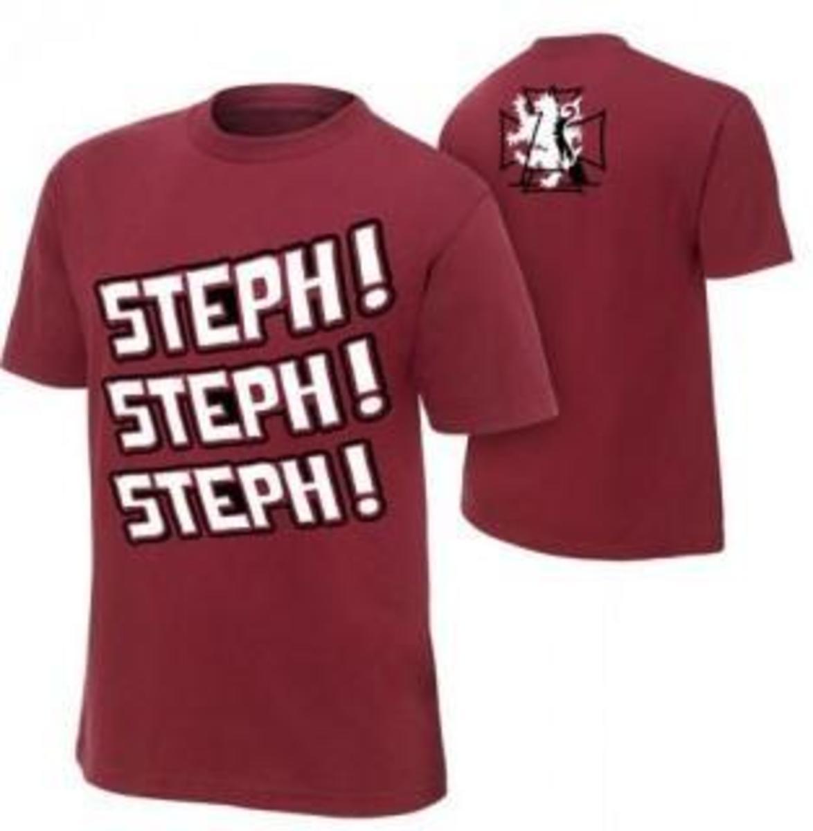 Steph!  Steph!  Steph!