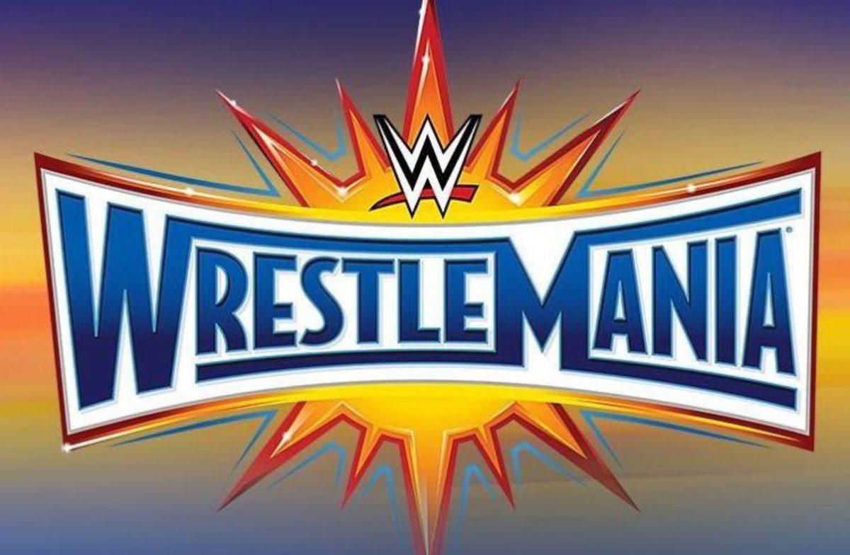 WrestleMania 33 logo