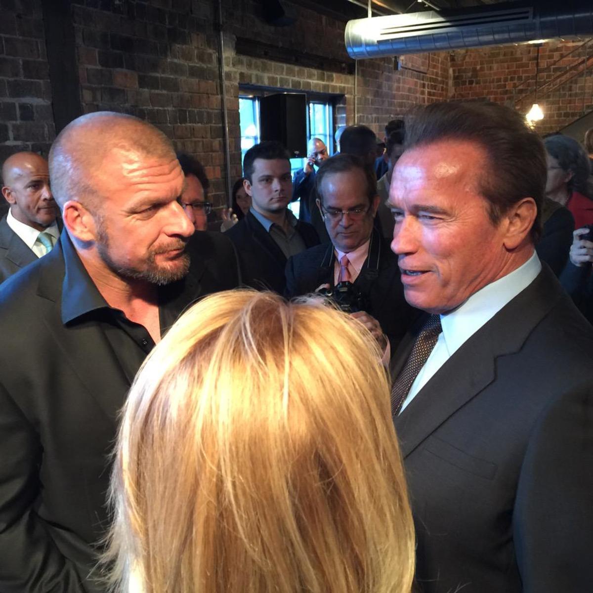Triple H & Arnold