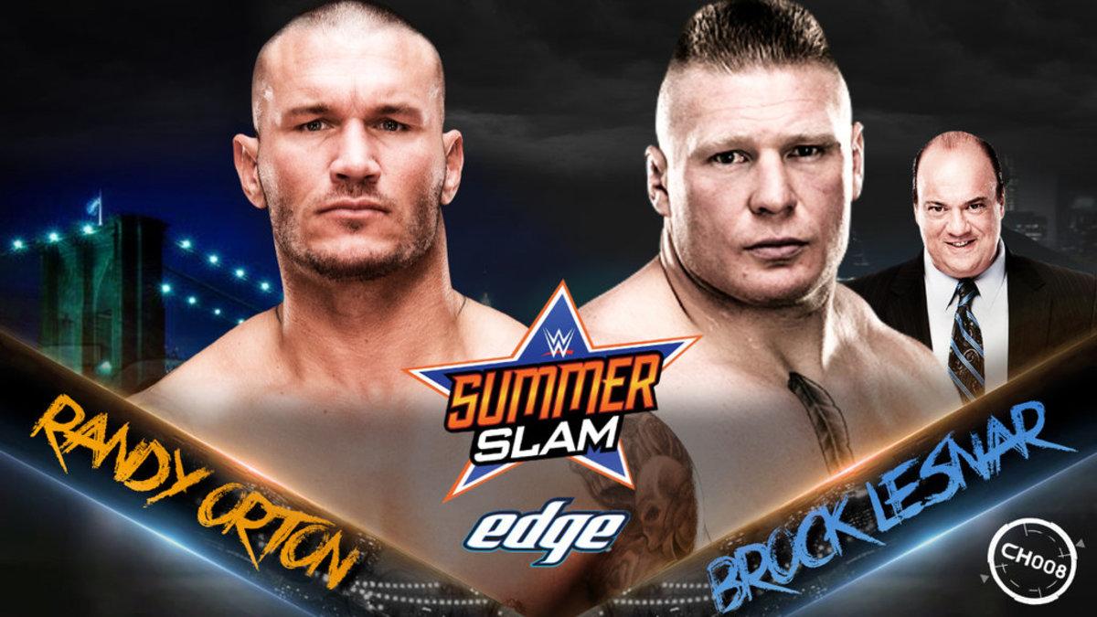 Orton vs. Lesnar
