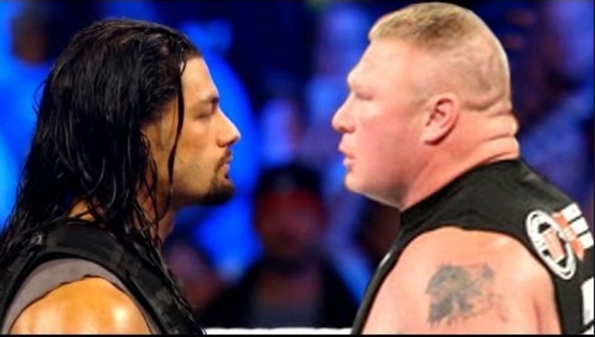 Roman Reigns vs. Brock Lesnar