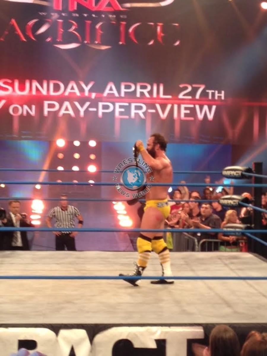 TNA Champion Eric Young
