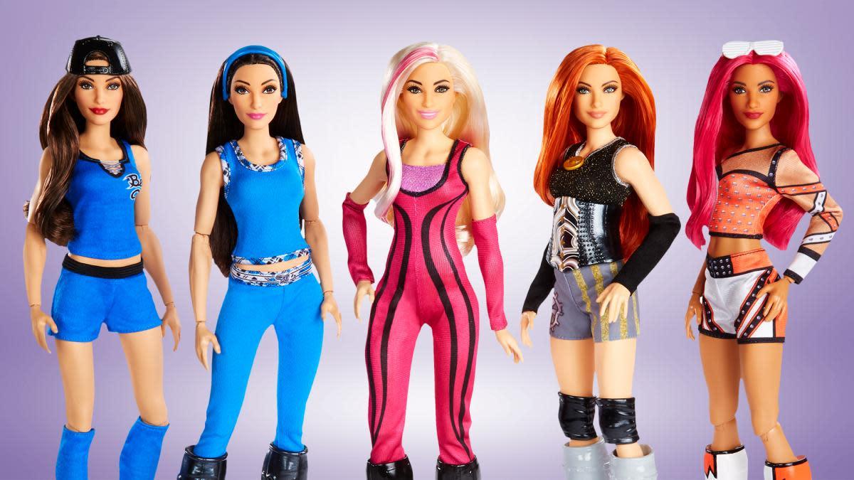 WWE dolls