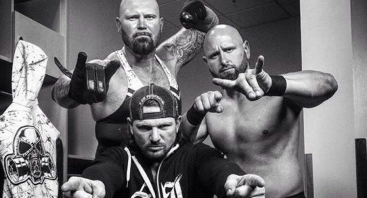 The Club - AJ Styles, Luke Gallows, Karl Anderson