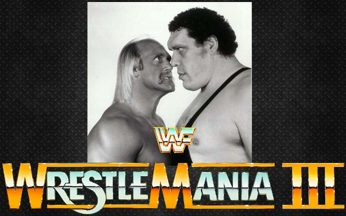 Image result for WrestleMania 3 Poster