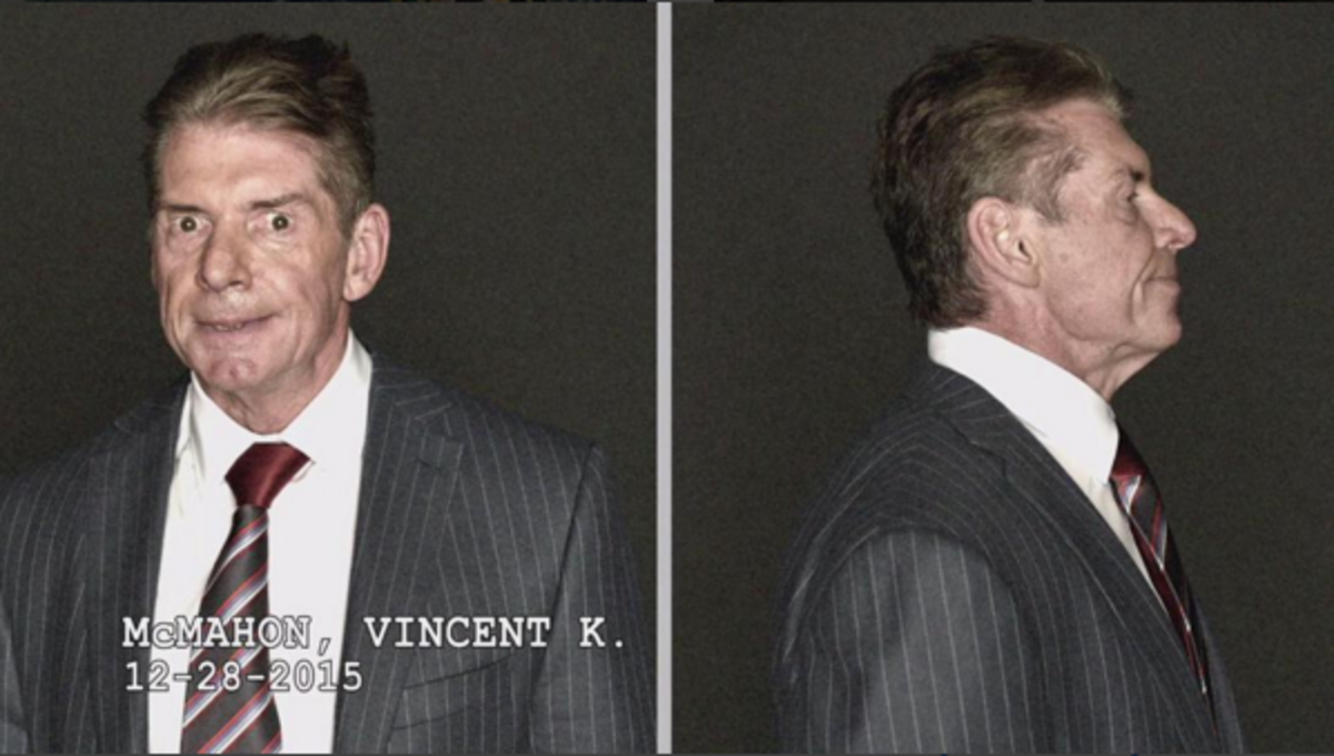 Vince McMahon Mugshot