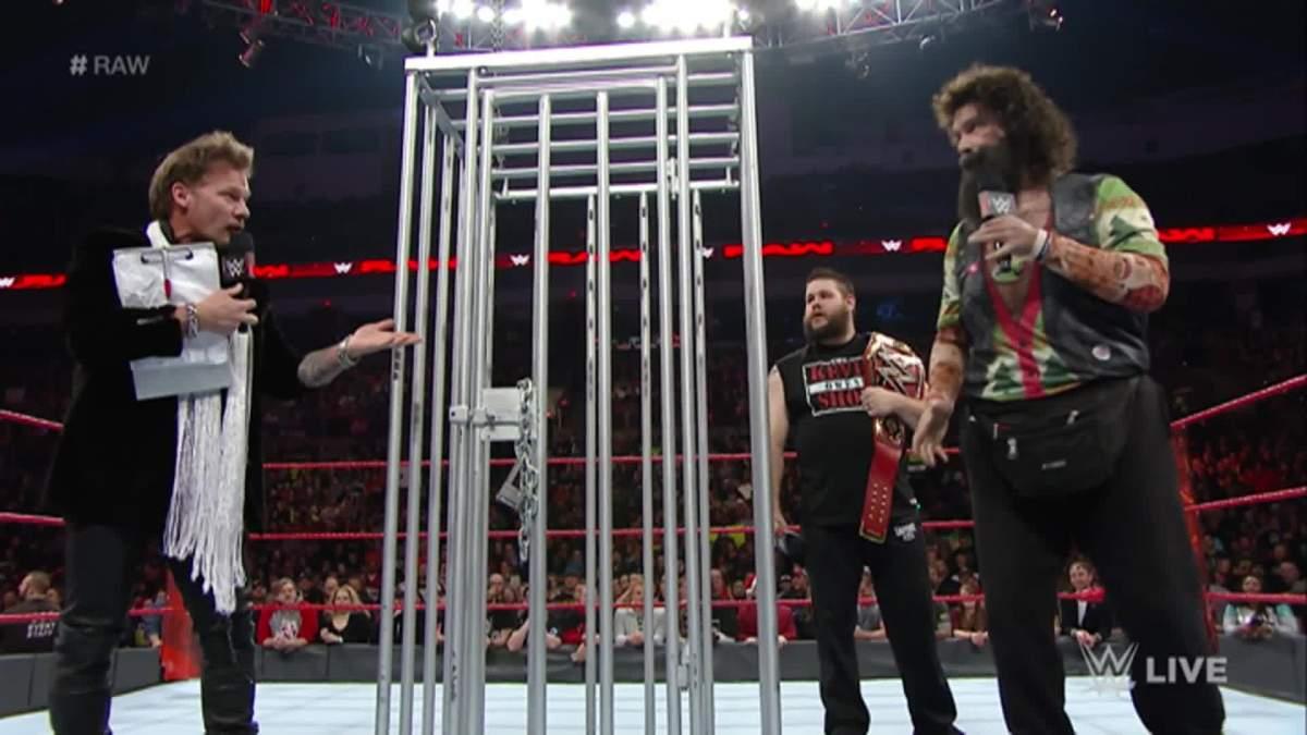 Chris Jericho, Kevin Owens, Mick Foley
