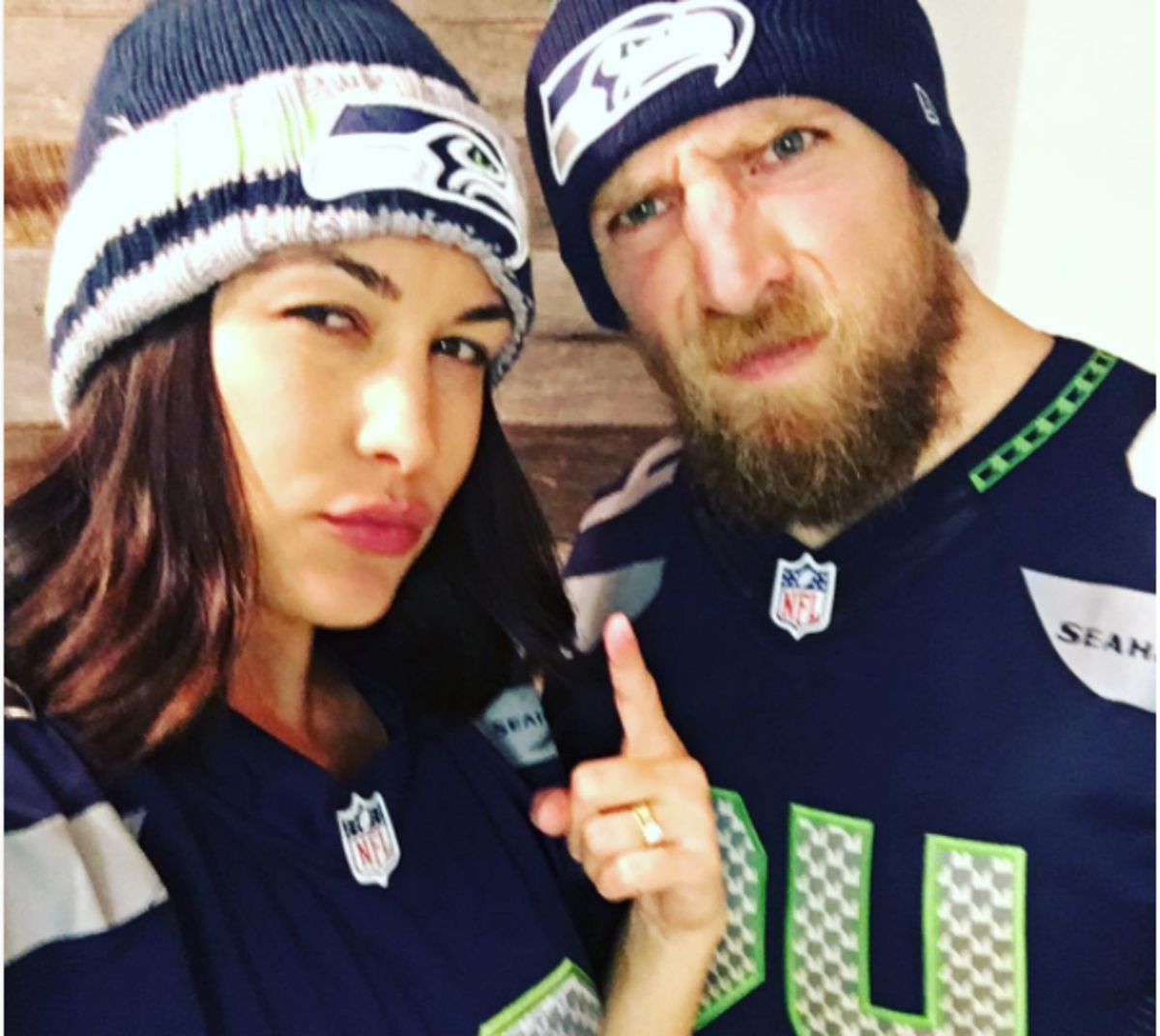 Brie Bella and Daniel Bryan