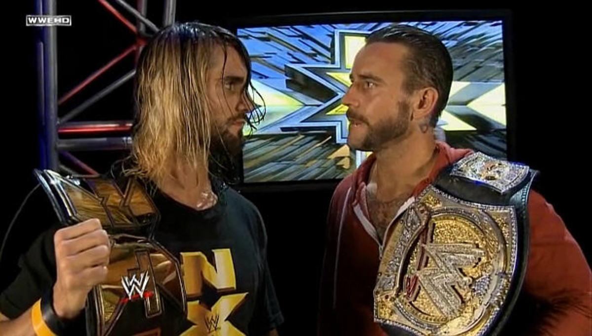 Seth Rollins & CM Punk