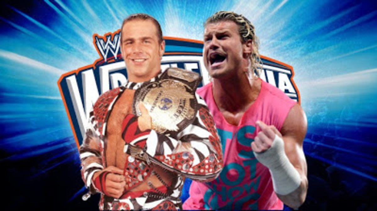 shawn michaels vs ziggler