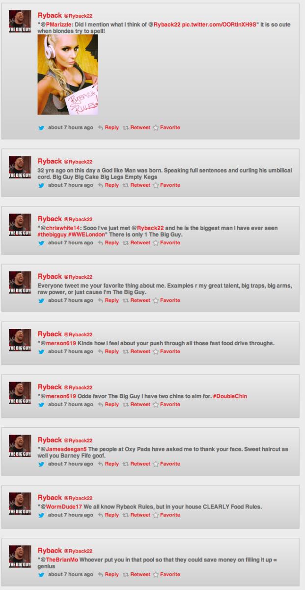 Ryback Tweets 2