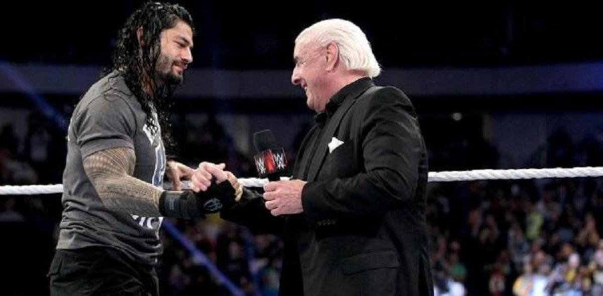 Roman Reigns and Ric Flair