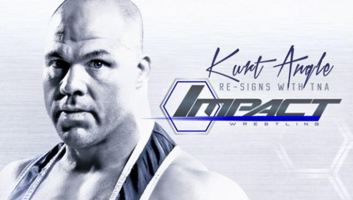 Kurt Angle TNA Wrestling