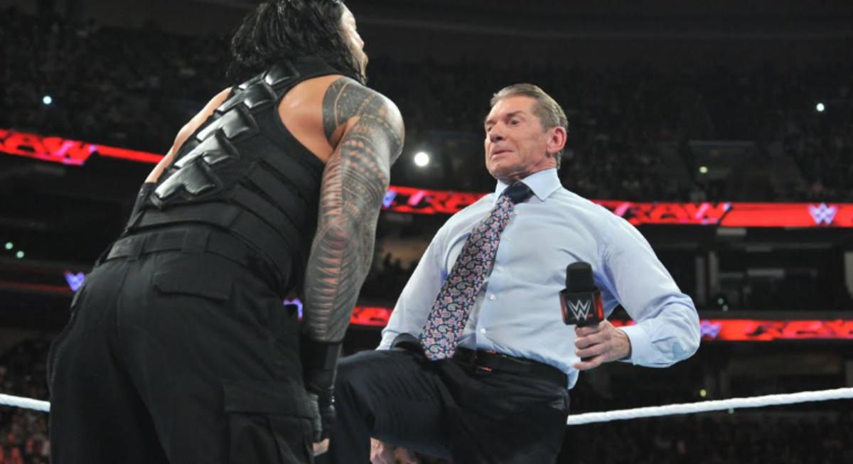 Vince Kicking Roman
