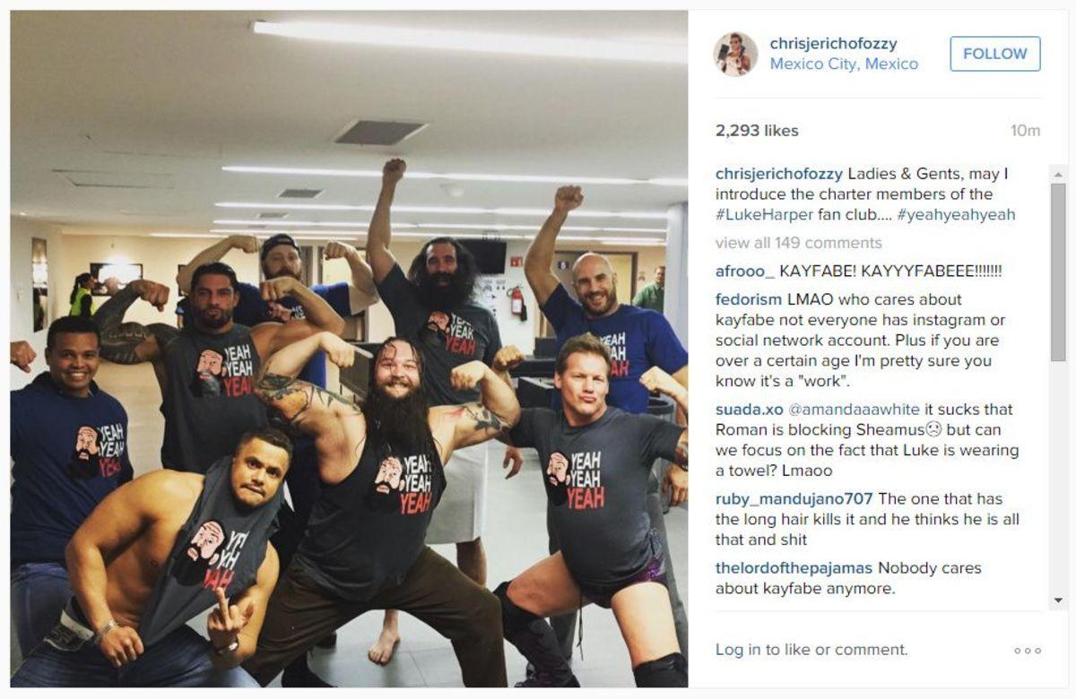 Jericho Instagram