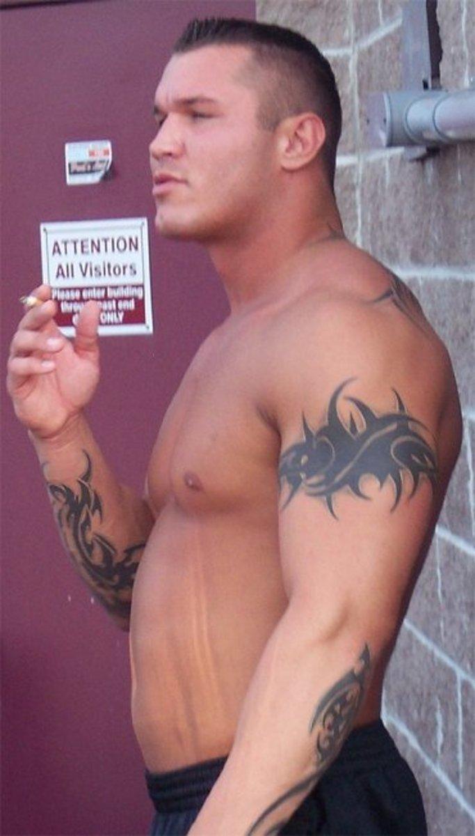 Young Randy Orton Smoking